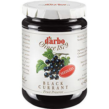 Picture of D'Arbo Blackcurrant Jam 450g