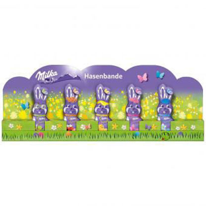 Picture of Milka Hasenbande - milk chocolate bunnies 75g