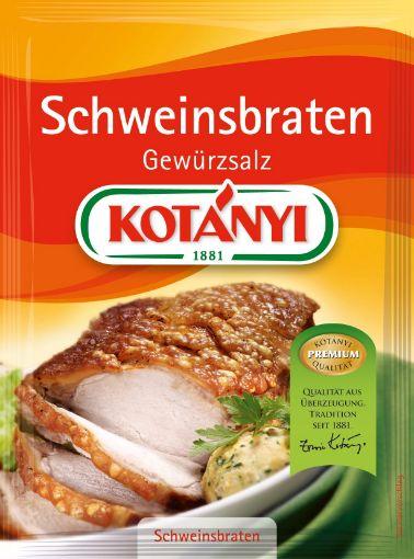 Kotanyi Schweinsbraten Gewürzsalz – Austrian Roast Pork seasoning & salt mix