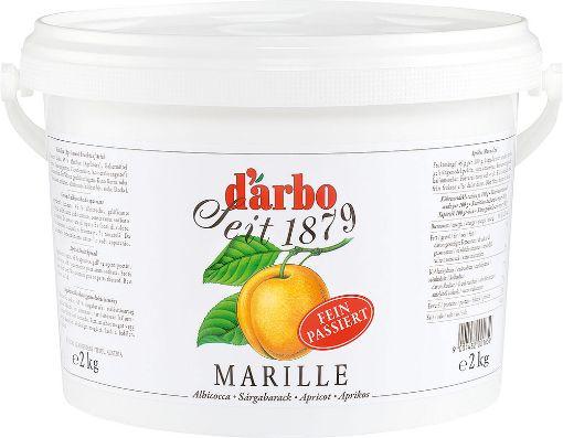 D'Arbo Marille  Apricot 2KG UK - Fruit Spread Jam